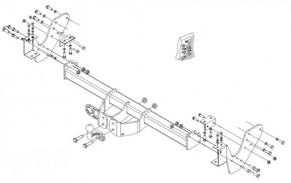 Anhängelast erhöhen Isuzu D-Max, 06. 2012- (feststehende AHK incl. Gutachten)