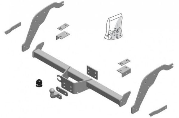 Anhängelast erhöhen Mazda BT-50 (Typ UN), 01.12.2006-2011 (feststehende AHK incl. Gutachten)