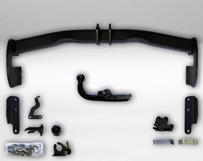 Anhängelast erhöhen Nissan X-Trail (M1G), Typ T32, 2014 (vertikal abnehmbare AHK incl. Gutachten)