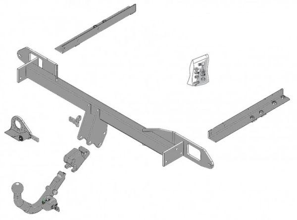 Anhängelast erhöhen Opel Insignia Variante AL11, 2008- (horizontal abnehmbare AHK incl. Gutachten)