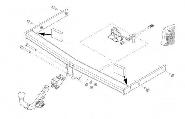 Anhängelast erhöhen Skoda Octavia Typ 1Z, 2005-2012 (horizontal abnehmbare AHK incl. Gutachten)