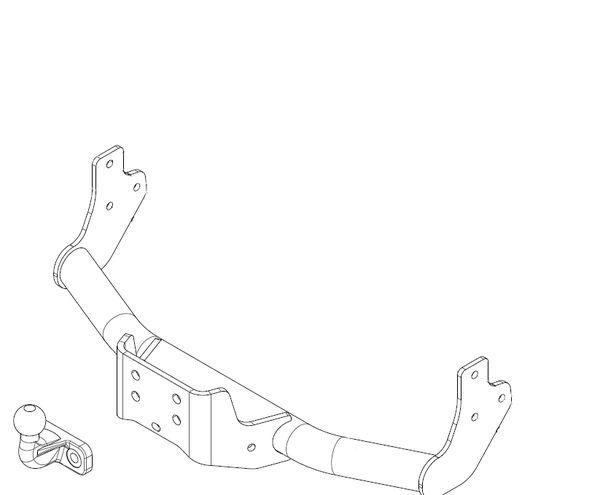 Anhängelast erhöhen Toyota Proace, 2013- (feststehende AHK incl. Gutachten)