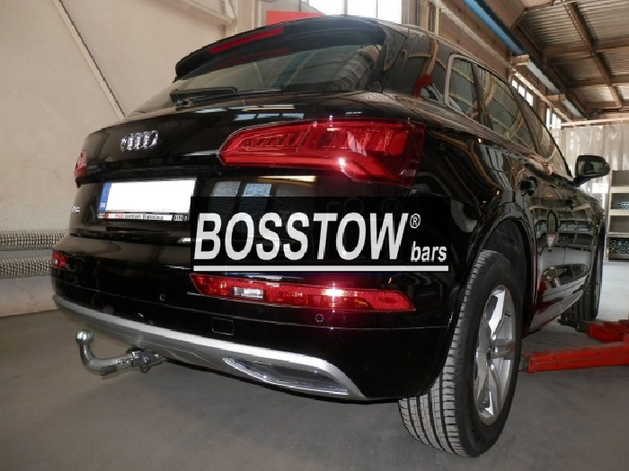 Anhängerkupplung Audi-Q5 - 2016- Ausf.:  horizontal