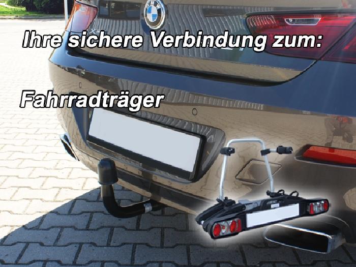 Anhängerkupplung BMW-6er Gran Coupe F06 m. M- Performance, Baujahr 2015-
