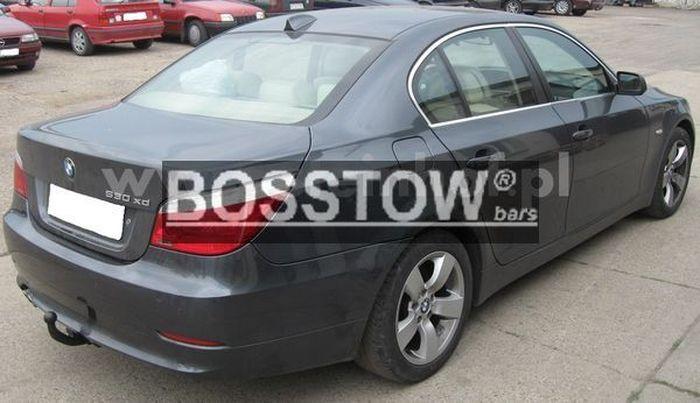 Anhängerkupplung für BMW-5er - 2003-2007 Limousine E60 Ausf.:  feststehend