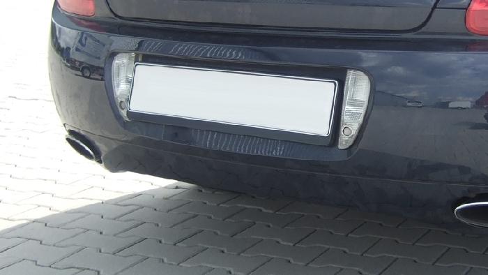 Anhängerkupplung für Bentley-GTC - 2006-2011 Cabrio, nur für Heckträgerbetrieb Ausf.:  vertikal