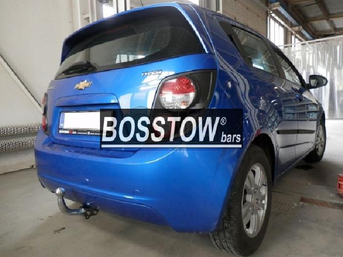 Anhängerkupplung für Chevrolet-Aveo - 2011- Fließheck Ausf.:  feststehend