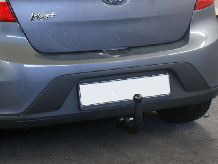 Anhängerkupplung Ford KA + Plus Heckträgeraufnahme, nur für Heckträgerbetrieb, Montage nur bei uns im Haus, Baureihe 2016-  vertikal