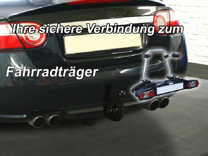 Anhängerkupplung Jaguar XKR X 150, nur für Heckträgerbetrieb, Montage nur bei uns im Haus, Baureihe 2005-  vertikal
