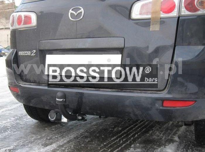 Anhängerkupplung für Mazda-2 - 2003-2007 Fließheck Ausf.:  feststehend