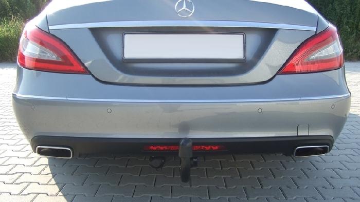 Anhängerkupplung für Mercedes-CLS - 2011- W218, nur für Heckträgerbetrieb Ausf.:  vertikal