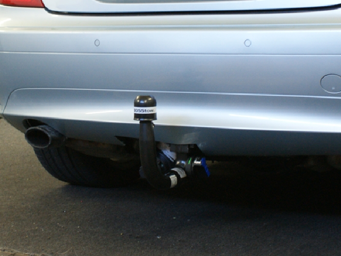 Anhängerkupplung Mercedes SLK R171 nur für Heckträgerbetrieb, Baureihe 2004-  vertikal