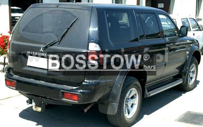 Anhängerkupplung Mitsubishi-Pajero Sport, Baujahr 1998-