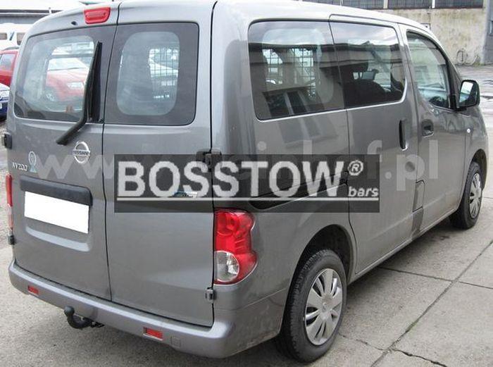 Anhängerkupplung für Nissan-NV200 - 2009- Kasten, Bus Ausf.:  feststehend