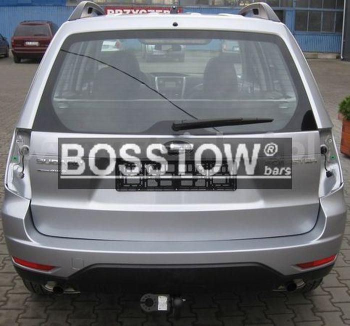 Anhängerkupplung für Subaru-Forester - 2001-2002 inkl. Niveauregulierung Ausf.:  feststehend