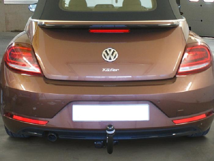 Anhängerkupplung VW-Beetle incl. Cabrio, 5C, nur für Heckträgerbetrieb, Baujahr 2011- Ausf.:  vertikal