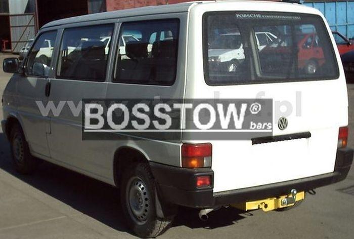 Anhängerkupplung für VW-Transporter - 1998- T4, Kasten Bus inkl. Caravelle Multivan, nicht Syncro Ausf.:  feststehend