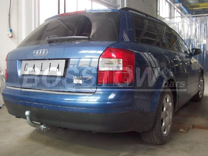 Anhängerkupplung für Audi-A4 Avant - 2004-2007 nicht Quattro, nicht RS4 und S4, incl. S-line Ausf.:  feststehend