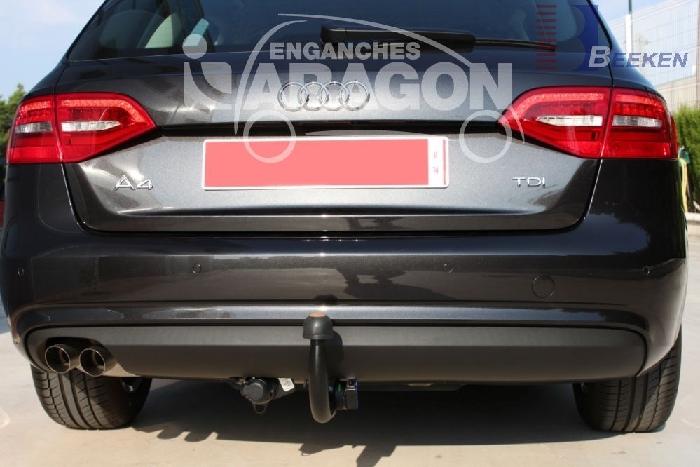 Anhängerkupplung Audi-A4 Avant nicht Quattro, nicht RS4 und S4, Baujahr 2012-2015 Ausf.:  vertikal