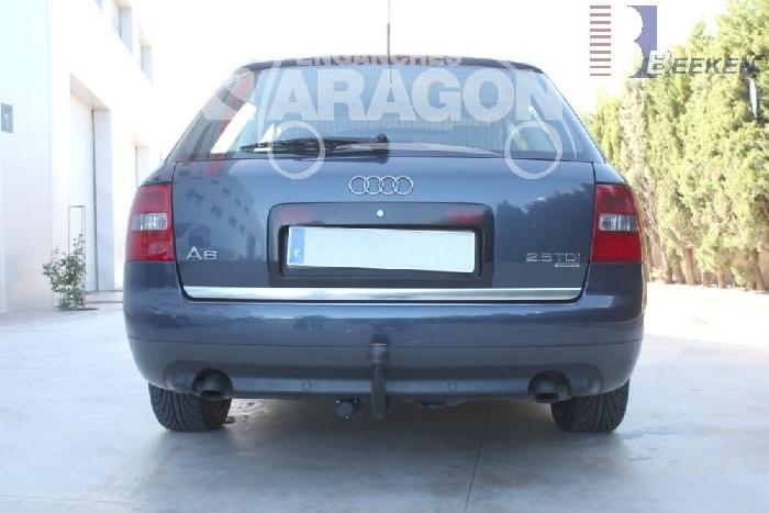 Anhängerkupplung Audi-A6 Avant 4B, C5, Quattro, nicht Allroad, Baujahr 1998-2004 Ausf.:  vertikal