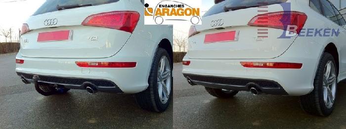 Anhängerkupplung Audi-Q5 - 2008-2017