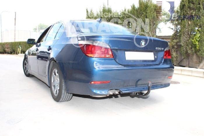 Anhängerkupplung für BMW-5er - 2003-2007 Limousine E60, spez. M- Paket Ausf.:  feststehend