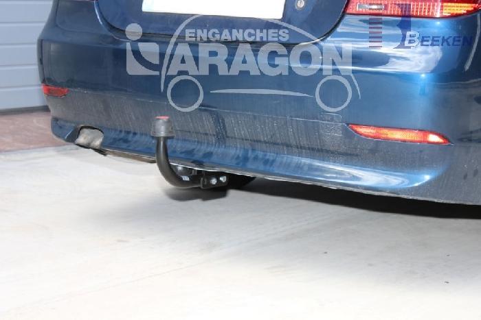 Anhängerkupplung für BMW-5er - 2007- Touring E61, spez. M- Paket Ausf.:  feststehend