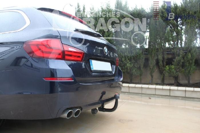 Anhängerkupplung für BMW-5er - 2014- Touring F11 Ausf.:  vertikal
