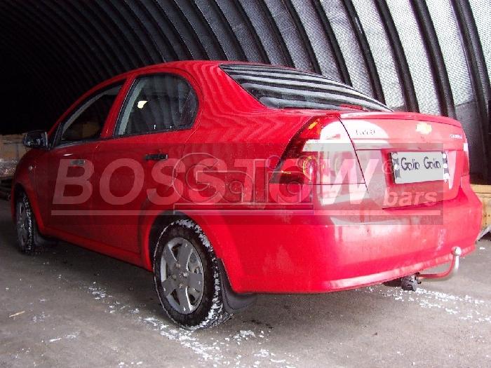 Anhängerkupplung für Chevrolet-Aveo - 2008-2010 Limousine Ausf.:  feststehend
