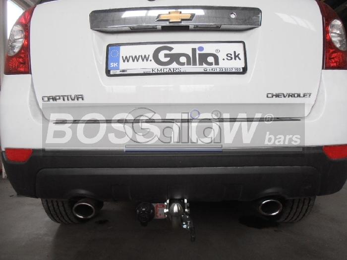 Anhängerkupplung für Chevrolet-Captiva - 2006-2012 Fzg. ohne Elektrosatz Vorbereitung Ausf.:  feststehend