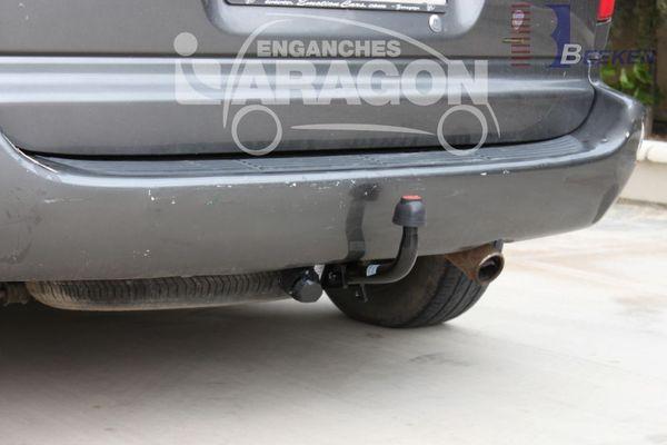 Anhängerkupplung Chrysler-Voyager, Baureihe 2001-2008  feststehend
