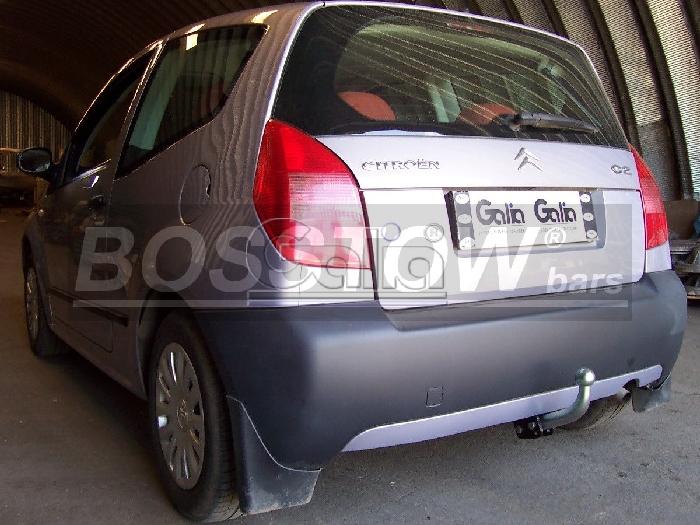 Anhängerkupplung für Citroen-C2 - 2003-2005 Ausf.:  feststehend
