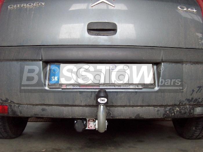 Anhängerkupplung Citroen-C4 5 türig, Baujahr 2007-2010