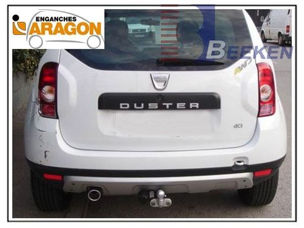 Anhängerkupplung für Dacia-Duster SUV 2WD und 4WD, Baujahr 2013-2017