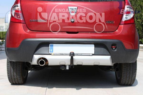 Anhängerkupplung Dacia-Sandero Stepway, nicht LPG, Baujahr 2009-2012