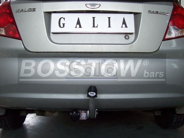 Anhängerkupplung für Chevrolet-Kalos - 2002-2006 Fließheck Ausf.:  feststehend