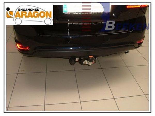 Anhängerkupplung Fiat-Freemont - 2011-2012,