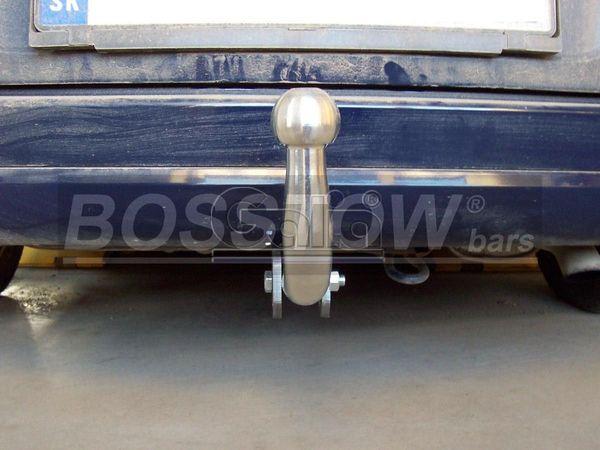 Anhängerkupplung für Ford-Fusion - 2002-2005 nicht Fzg. mit Einparksensoren- PDC Ausf.:  feststehend