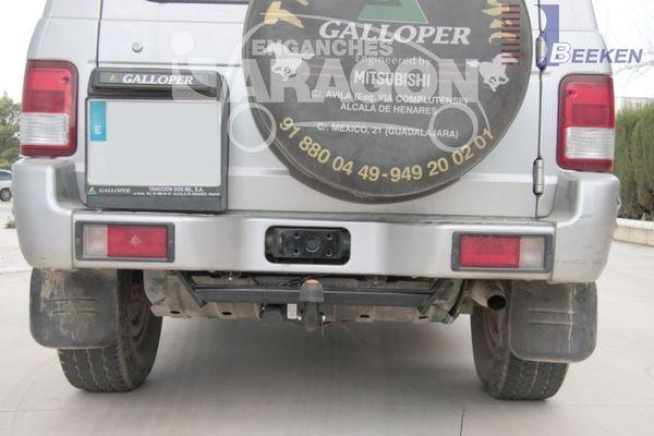 Anhängerkupplung für Hyundai-Galopper - 1998- langer Radstand, incl. Exceed Ausf.:  feststehend
