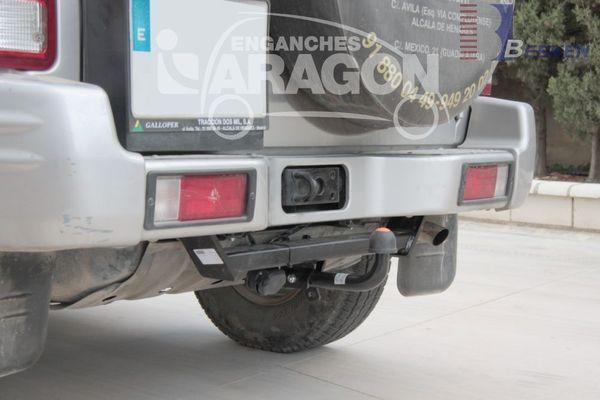 Anhängerkupplung Hyundai-Galopper langer Radstand, incl. Exceed, Baujahr 1998-
