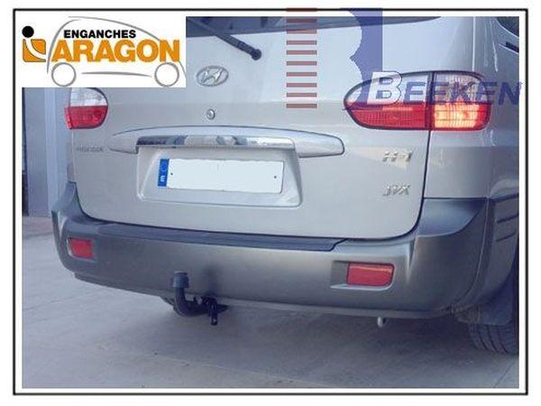Anhängerkupplung für Hyundai-H-1, und Starex - 2002-2008 (H1) Kastenwagen mit Heckklappe Ausf.:  feststehend