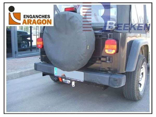 Anhängerkupplung Jeep-Wrangler TJ, Baujahr 1996-1999