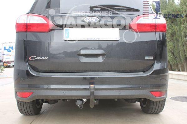 Anhängerkupplung für Mazda-3 - 2009-2013 Fließheck, nicht für MPS Ausf.:  vertikal