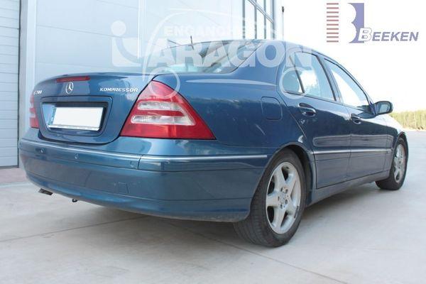 Anhängerkupplung für Mercedes-C-Klasse - 2001-2005 Kombi W203 Ausf.:  vertikal