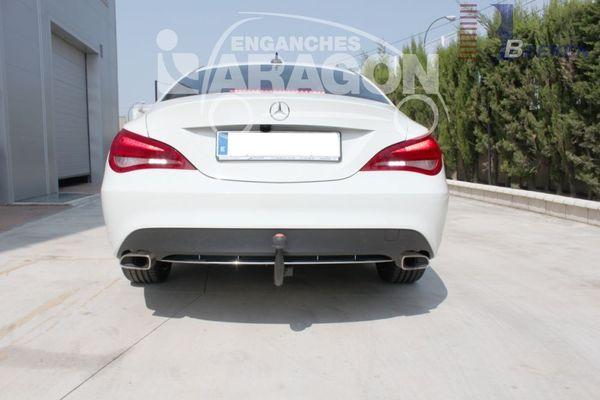 Anhängerkupplung Mercedes-CLA C117, Coupe, Baujahr 2013-2019 Ausf.:  vertikal