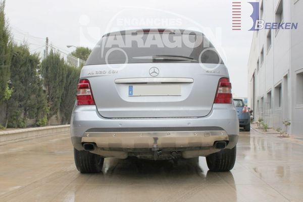 Anhängerkupplung Mercedes-GL X164, Baujahr 2006-2012 Ausf.:  vertikal