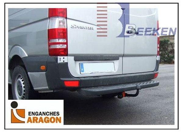 Anhängerkupplung Mercedes-Sprinter Kastenwagen Heckantrieb 209-324, Radstd. 3665mm, Fzg. mit Trittbrettst., Baujahr 2006-2018