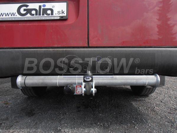 Anhängerkupplung für Mercedes-Sprinter Kastenwagen Heckantrieb - 2000-2006 208-316, Radstd. 4025 mm, Fzg. ohne Trittbrettst. Ausf.:  feststehend