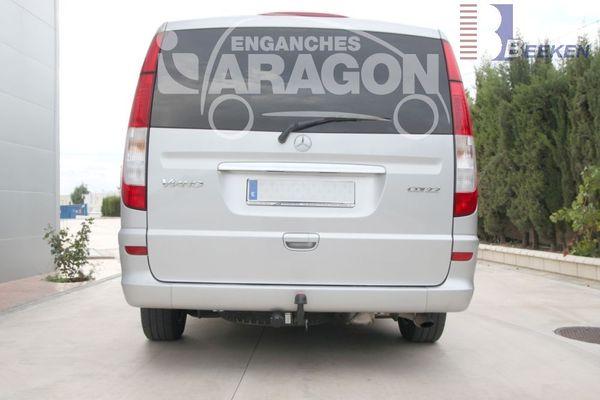 Anhängerkupplung Mercedes-Viano W639, Baujahr 2003-2005