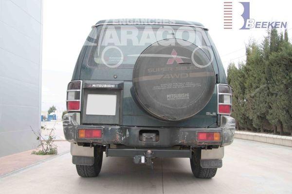 Anhängerkupplung Mitsubishi-Pajero V20, V40, kurzer u. langer Radstand, Baujahr 1994-2000
